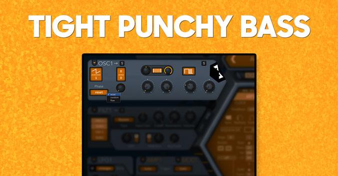 Tight punchy bass