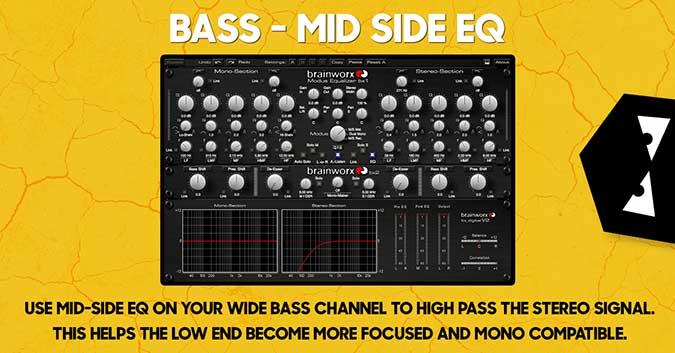 bass mid side eq