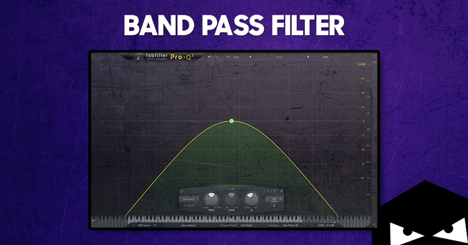 Using a band pass filter to find the sweet spot for your sound