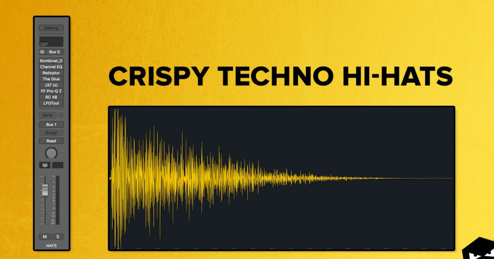 Crispy techno hi-hats