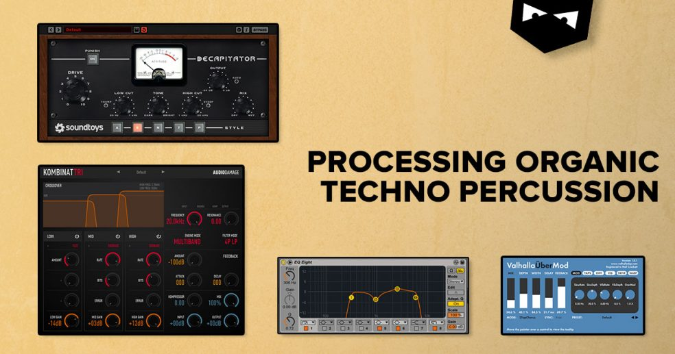 Processing Organic Techno Percussion