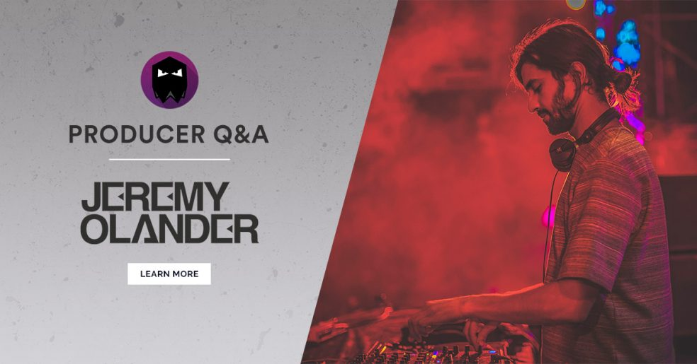 Jeremy Olander Producer Q&A