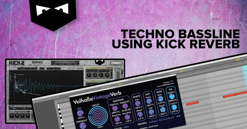 how to create a techno bassline