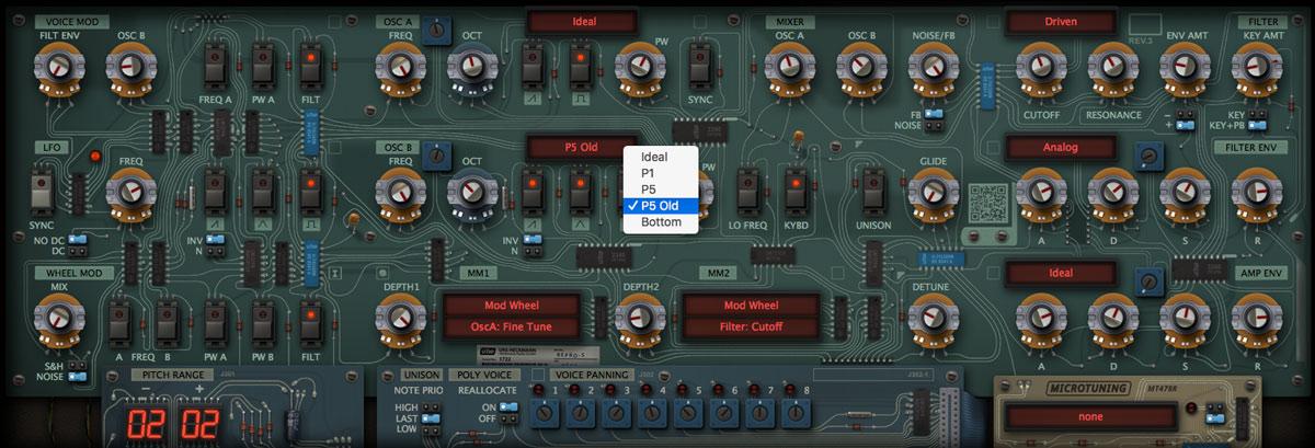 Audiotent Repro5 presets