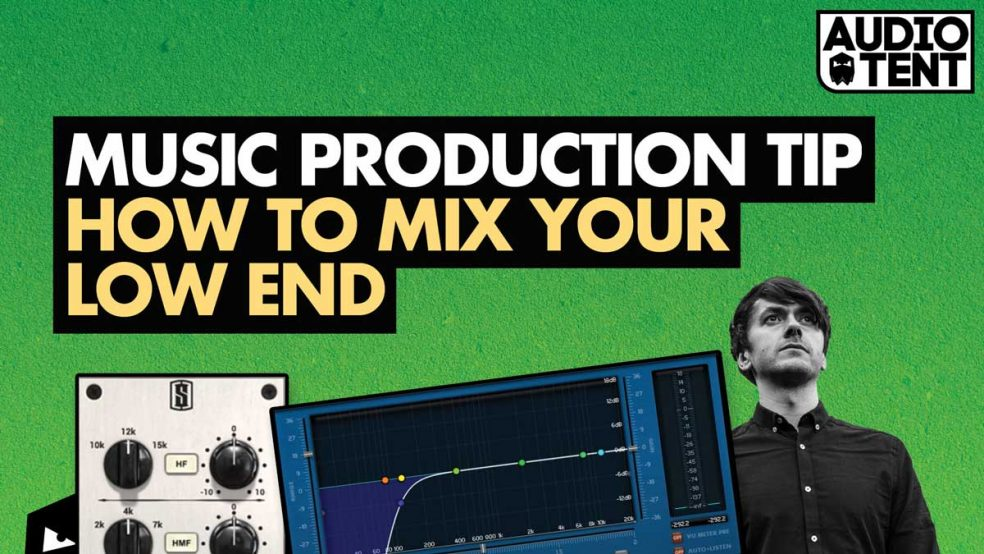 How To Mix Your Low End - Kick, Bass and Toms