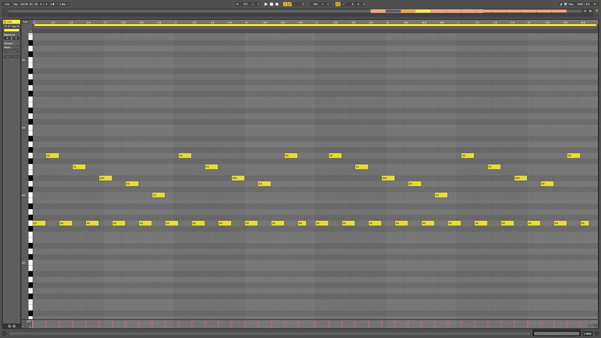 22 AT Vega Note MIDI Nova gm