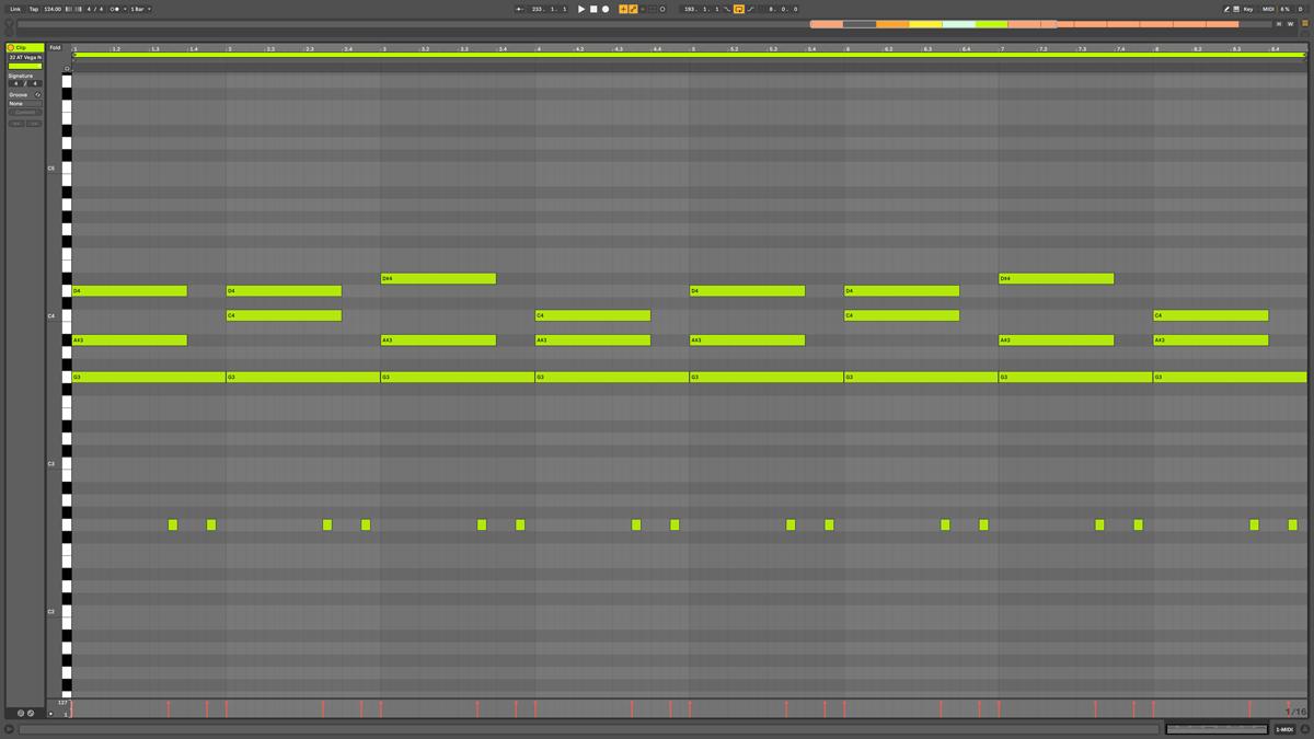 25 AT Vega Note MIDI - Nebula cm