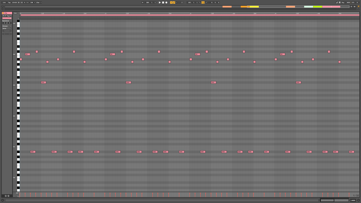 95 AT Vega Note MIDI - Gibbous a#m