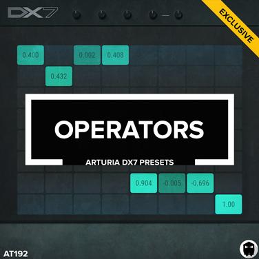 Audiotent Operators